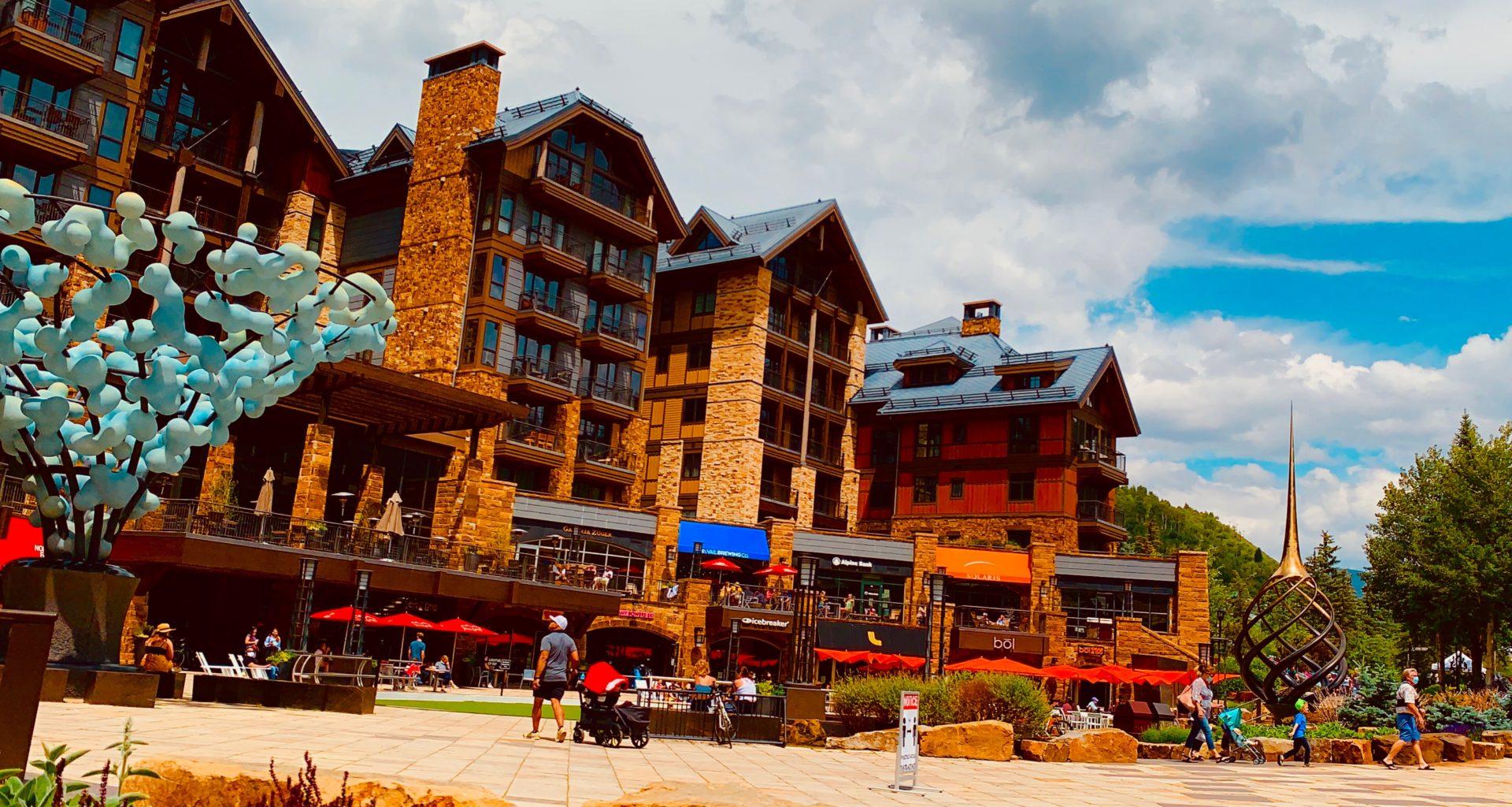 No solo se va a esquiar a Vail, Colorado
