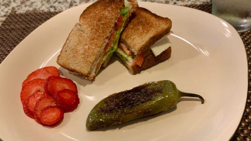 Sándwich nutritivo