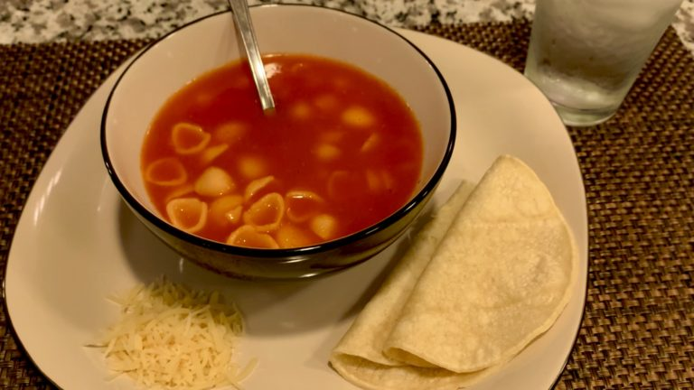 Sopa caldosa