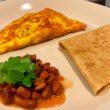 Tortilla francesa a la mexicana