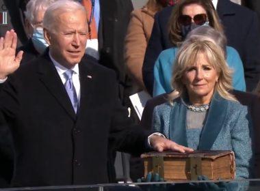 Toma de posesión Joe Biden
