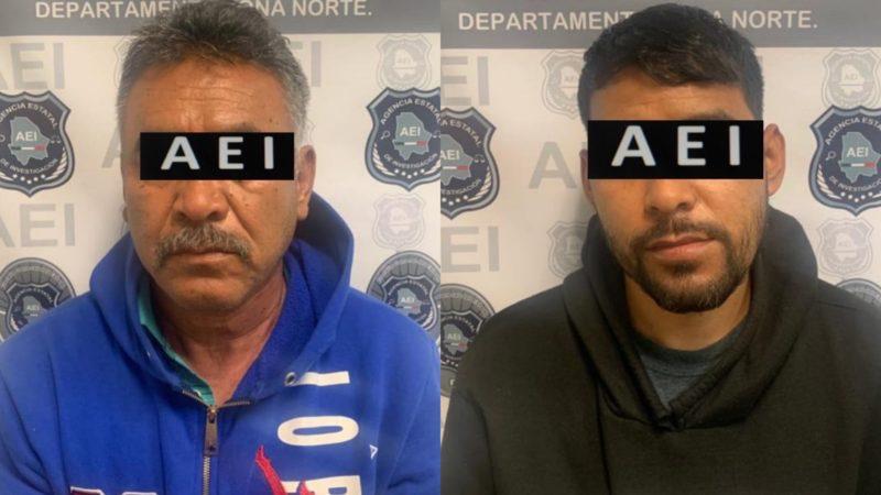 Presuntos homicidas