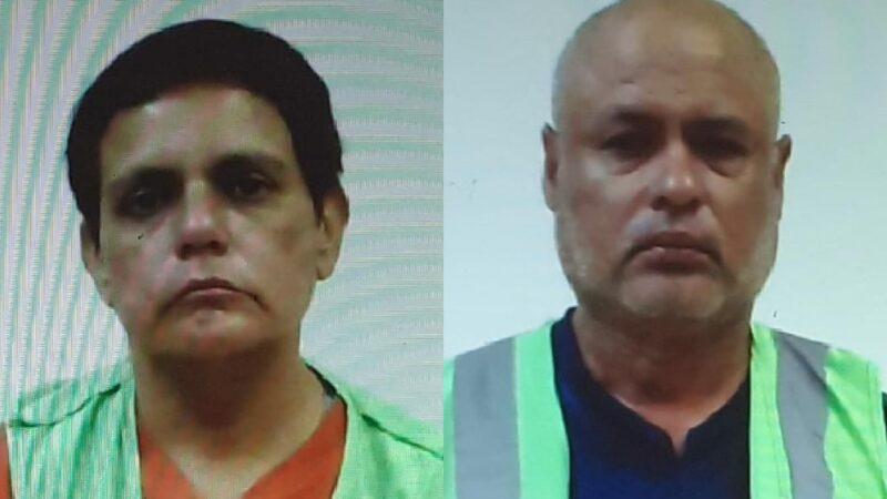 Leticia Chin Su, 31 años de cárcel y Raúl Vizcaíno tres años de prisión.