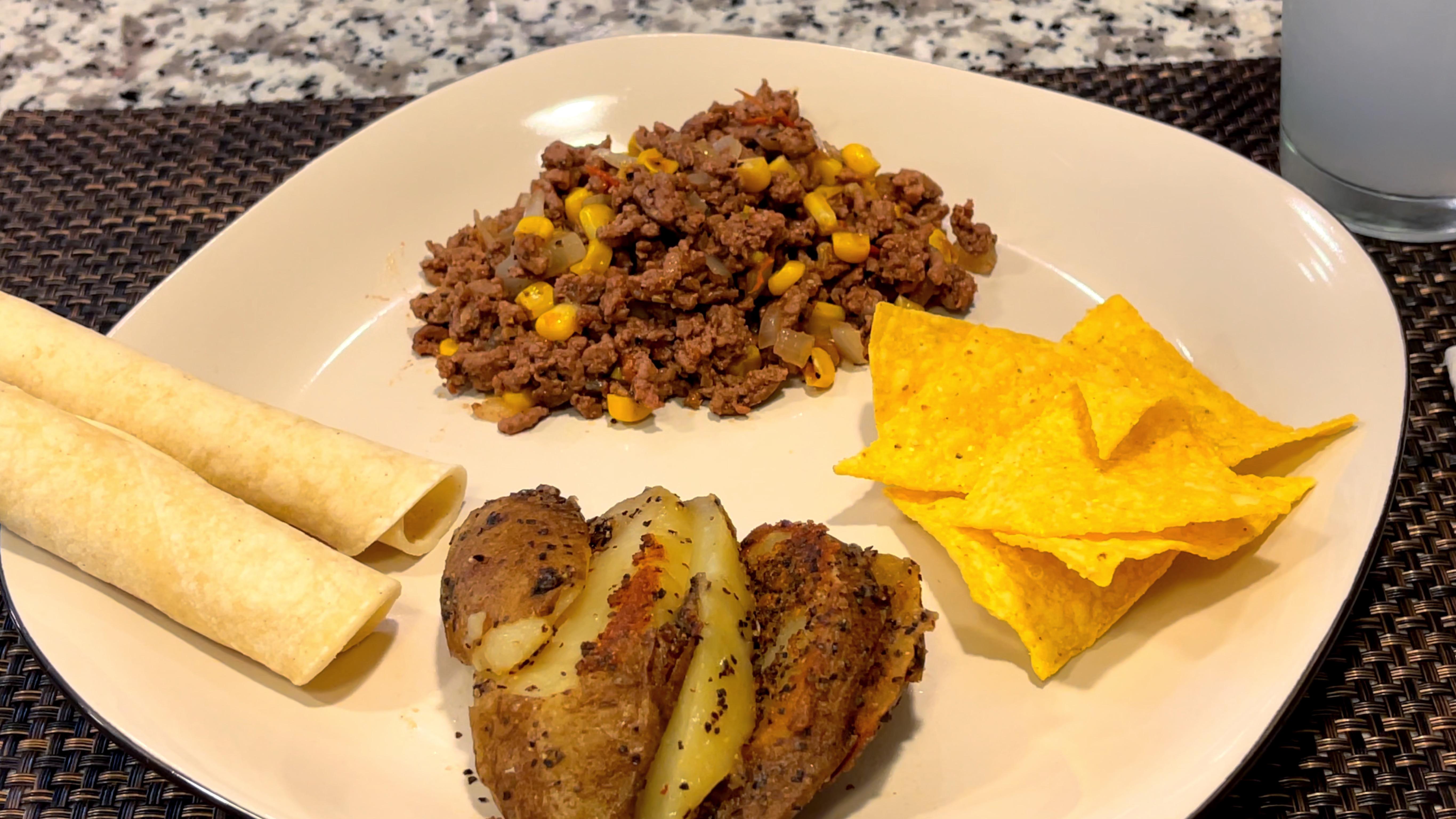Guisado de carne molida, fácil y delicioso