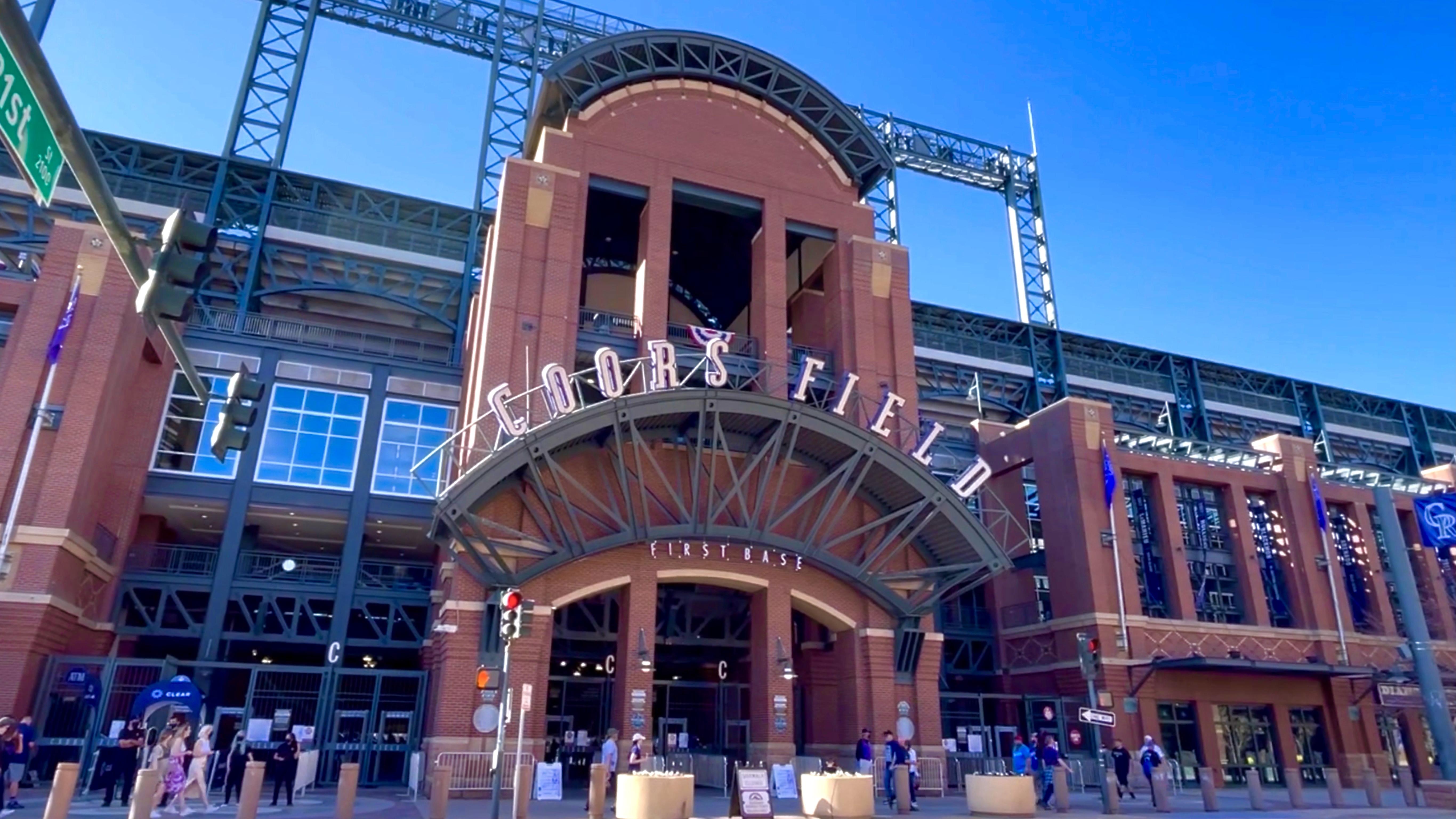 Coors Field Stadium Colorado