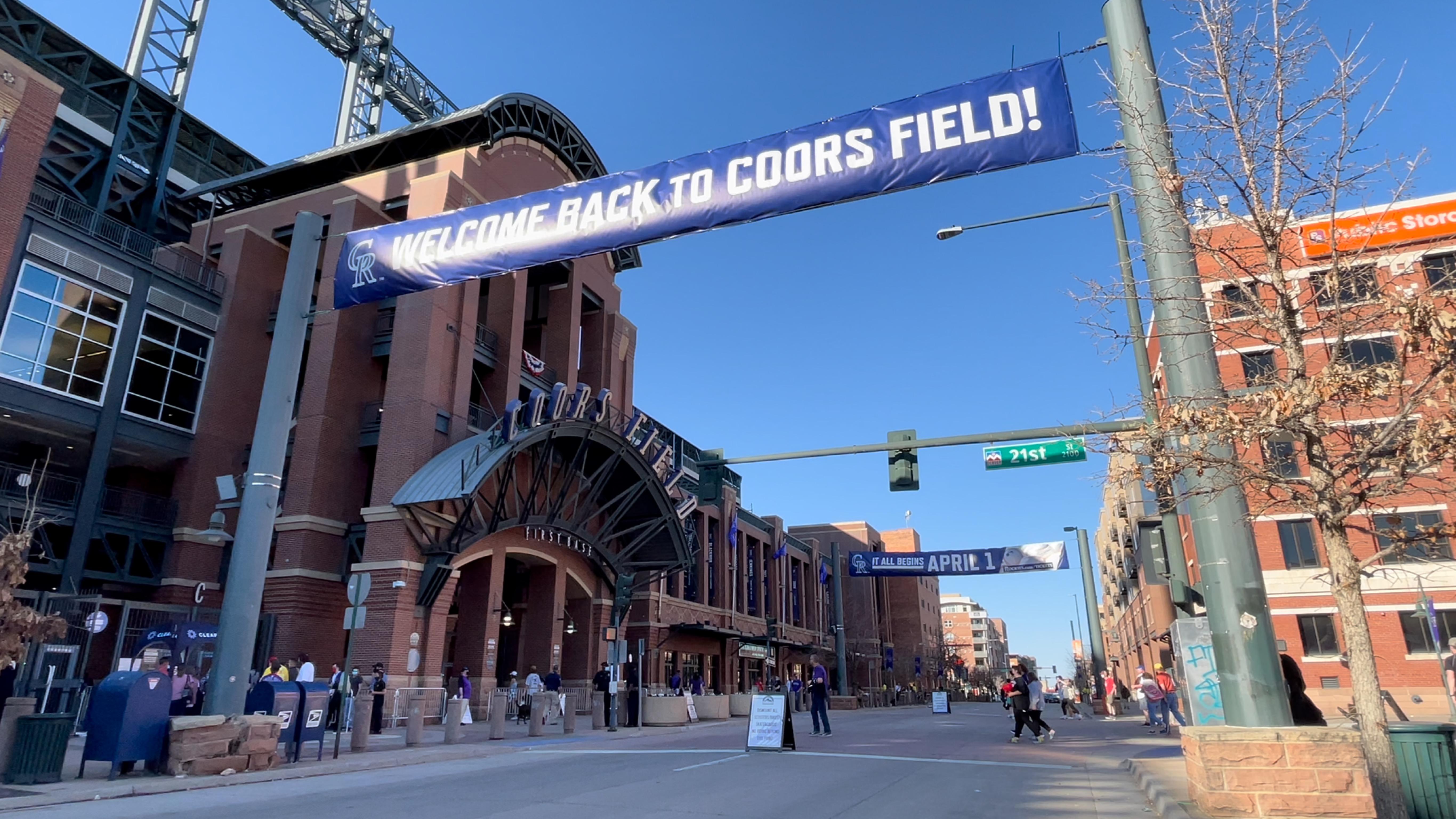 Coors Field Colorado