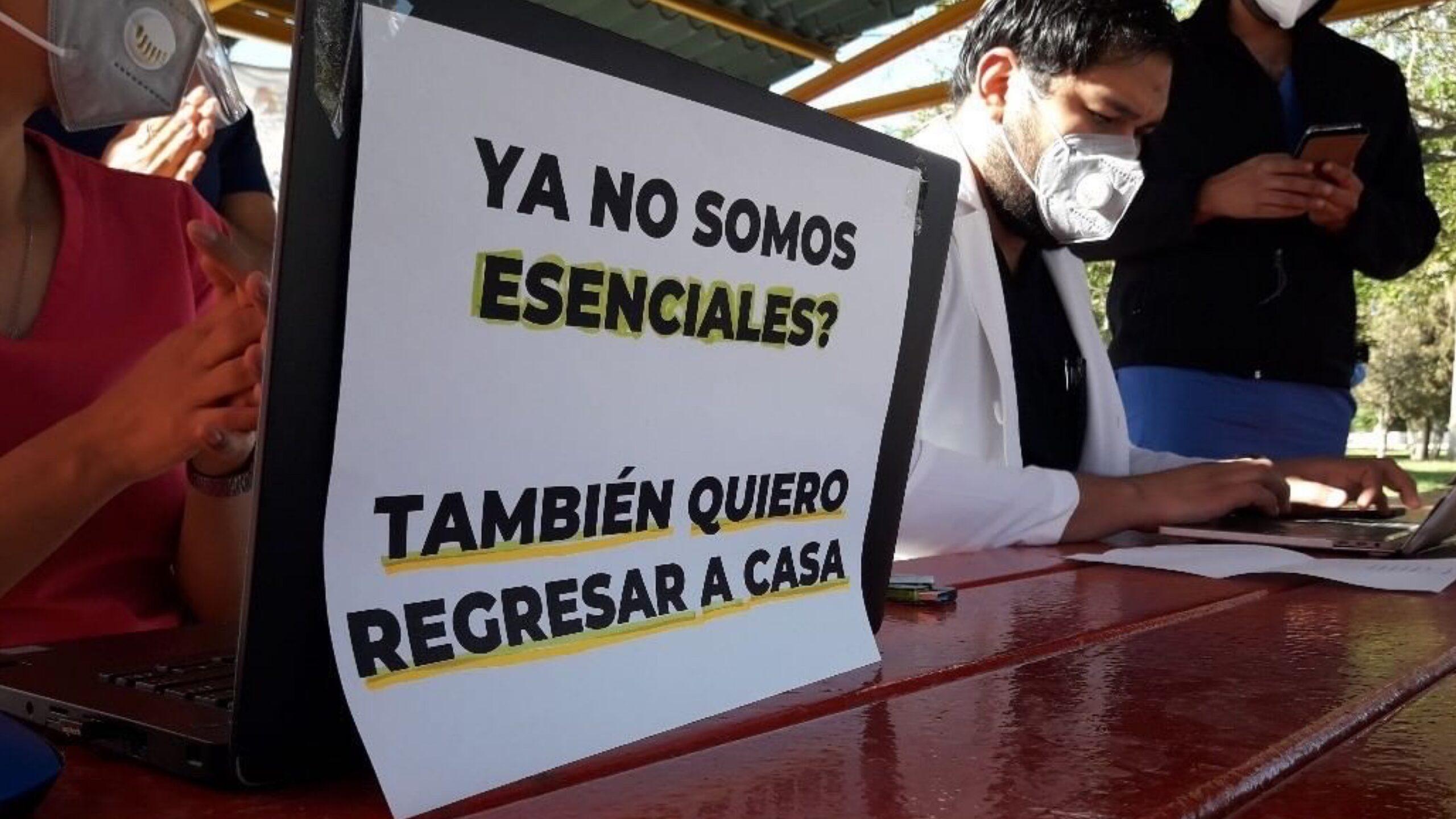Protestan Médicos privados juarenses