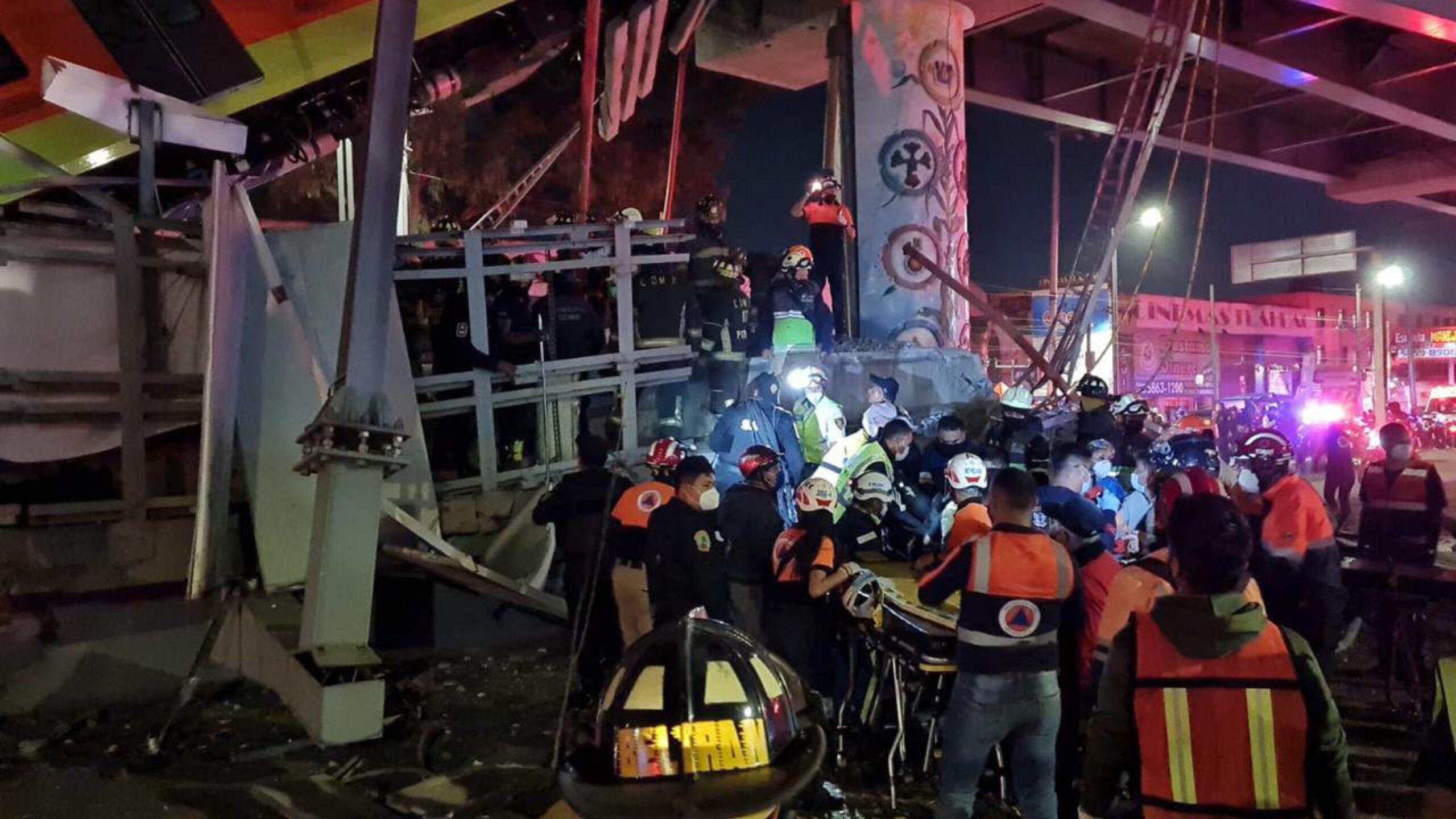 Se desploma el metro en CDMX