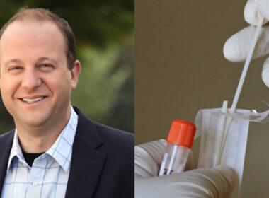 Jared Polis, gobernador de Colorado, pruebas COVID-19
