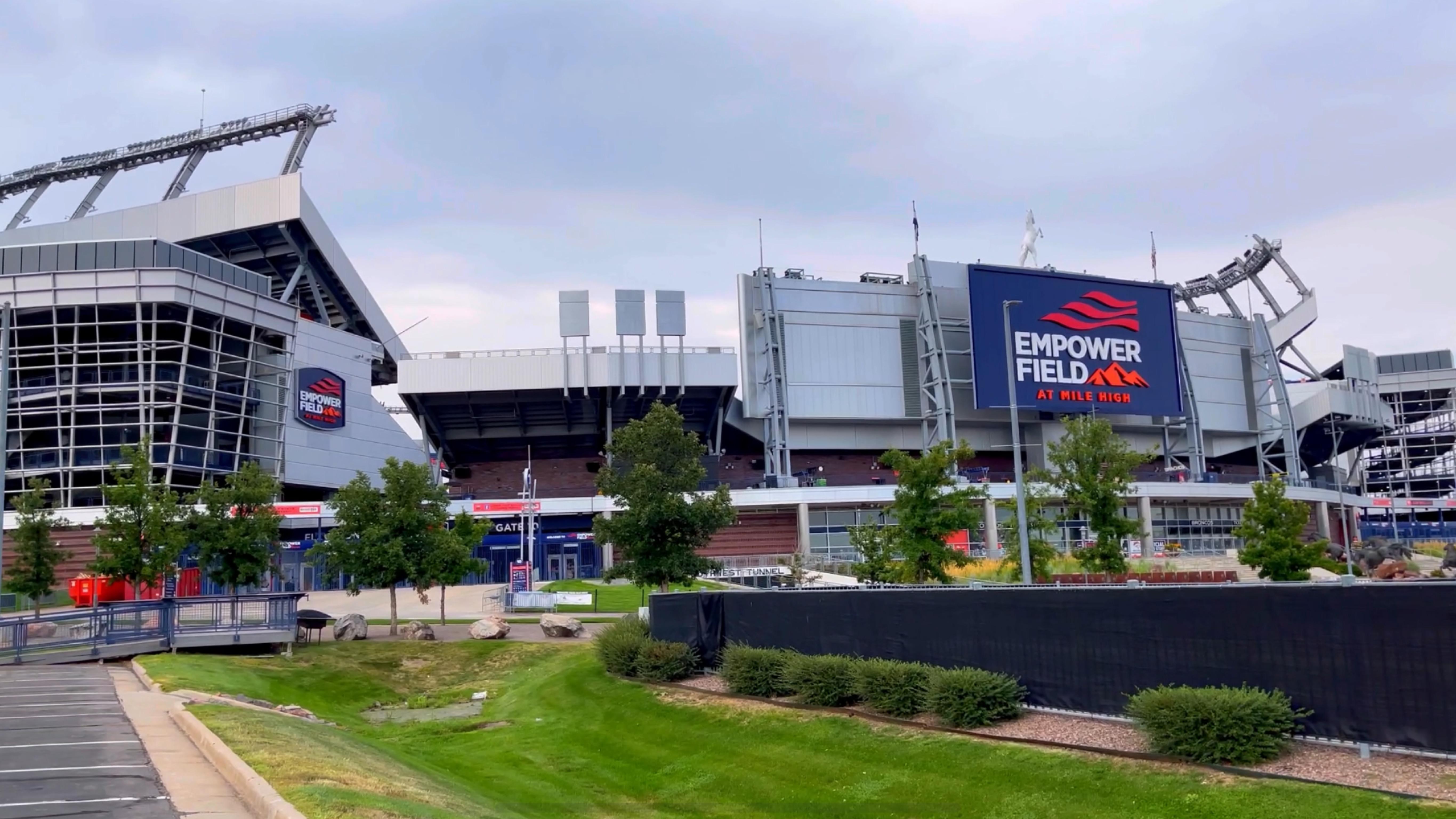 Empower Field at Mile High, Broncos de Denver, Futbol Americano, estadio de los Broncos de Denver