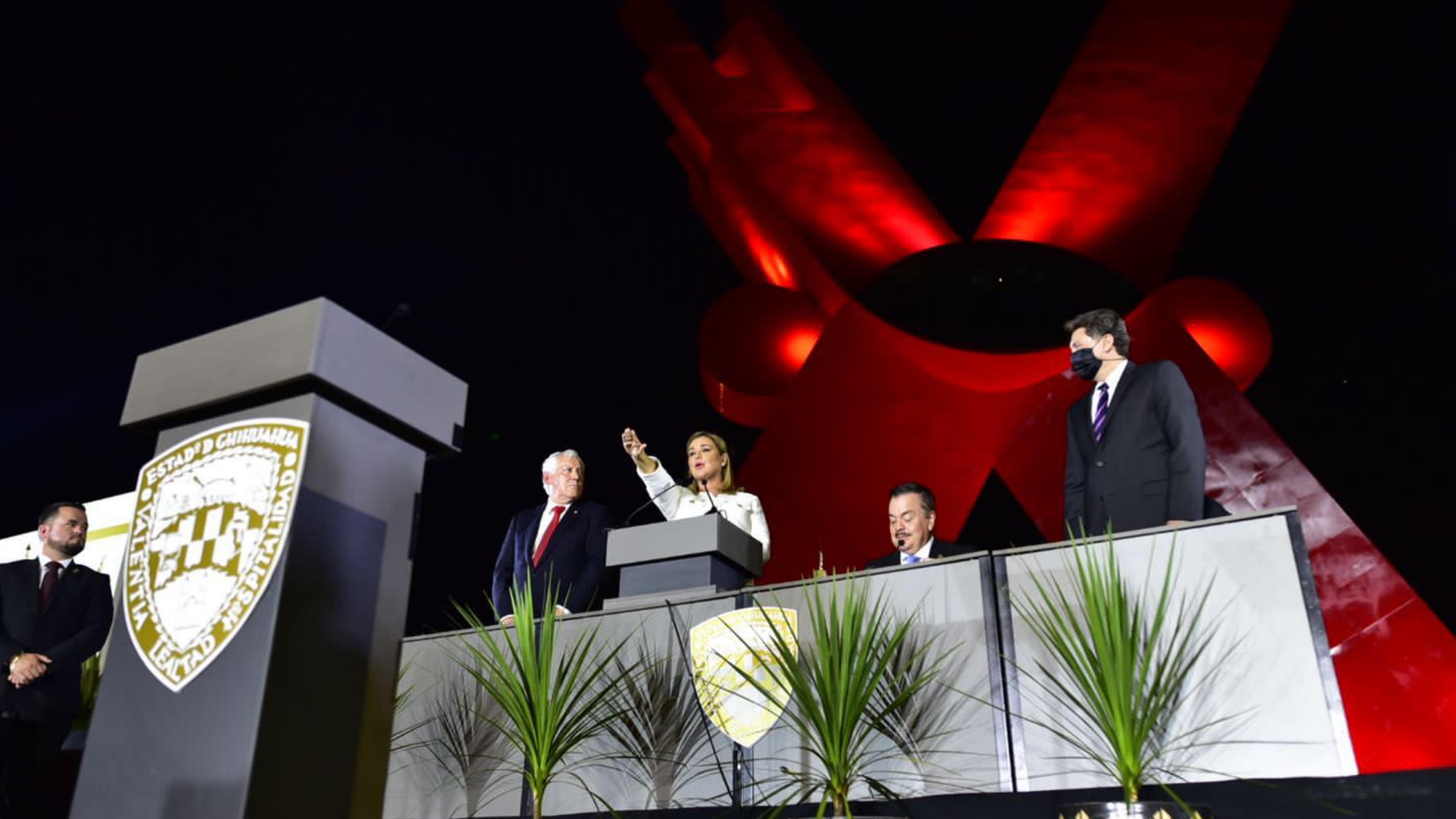 Maru Campos, primera Gobernadora del Estado de Chihuahua