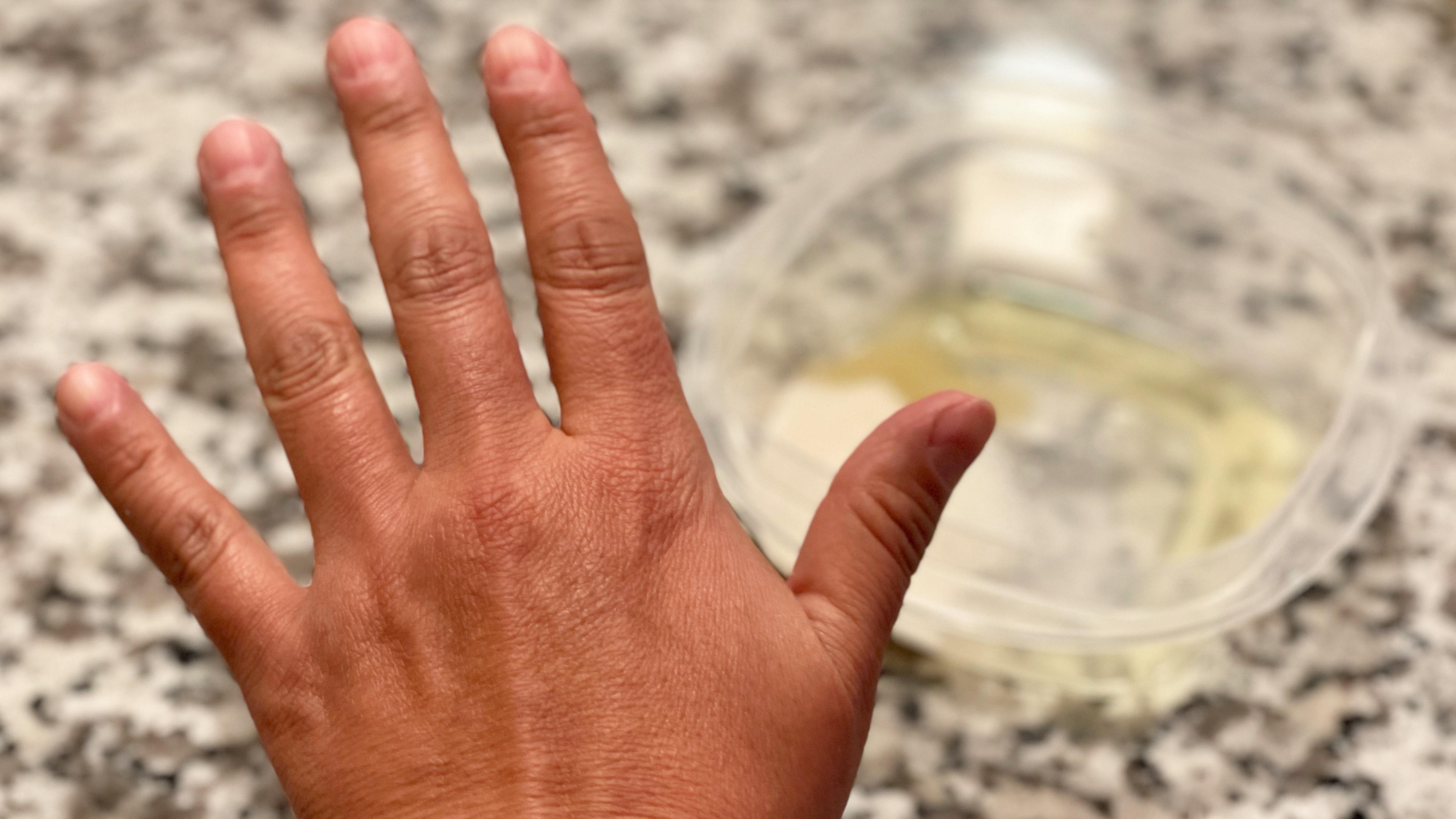 Perla Rico, recomendaciones para exfoliar las manos, remedios caseros